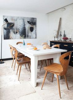 Dining Room Inspiration - French By Design (Those chairs!)