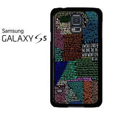 Avenged Sevenfold Lyrics Quotes Samsung Galaxy S5 Case