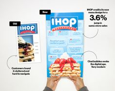 How IHOP's new menu design gets customers to spend more - I don't even like IHOP and suddenly I'm hungry for pancakes...