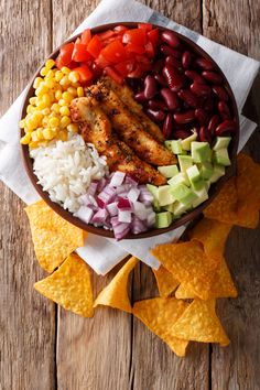 mexicaine buddha façon bowl Buddha bowl façon mexicaineYou can find Bowls recipe vegetarian and more on our website Healthy Dinner Options, Healthy Dinner Recipes, Mexican Food Recipes, Vegetarian Recipes, Diet Recipes, Latin Food, Clean Eating Diet, Healthy Eating, Healthy Lunches