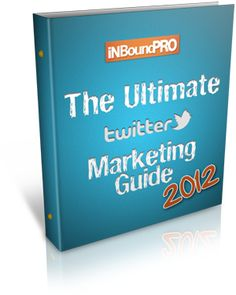 1000's +plus Downloads already. Act NOW and download the Ultimate Twitter Marketing Guide for 2012. Just pay me with a Tweet.