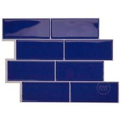 Smart Tiles Backsplash, Install Backsplash, Peel N Stick Backsplash, Stick On Wall Tiles, Peel And Stick Tile, Mosaic Wall, Mosaic Tiles, Urban Rooms, Self Adhesive Wall Tiles