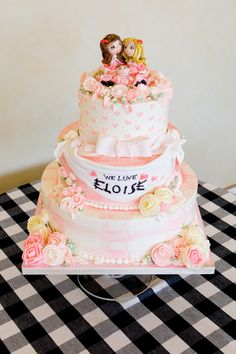 OMG an Eloise themed baby shower! Please someone do this so I can come!