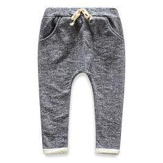 kids joggers pants turnup boys/girls harem pants                                                                                                                                                                                 Más