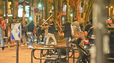 A MIGRANT turf war erupted into violence on the streets of one of Paris' trendiest neighbourhoods early this morning as asylum seekers beat each other to a pulp with wooden clubs. The area ar… Boycott Hollywood, World Government, Knowledge Is Power, Paris Street, First World, The Neighbourhood, Battle, War, Jungles