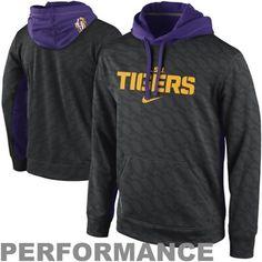 Nike LSU Tigers KO Performance Hoodie - Black