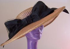 Kentucky Derby Titanic hat in Gold lattice sinamay by daisyhere, $125.00