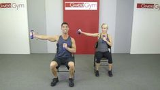 Home Care, Seated Wheelchair Work-Out with a Gwee Gym - YouTube