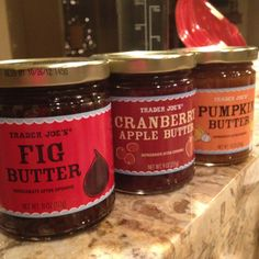 Hooray for Trader Joes seasonal butters, only $2.99!