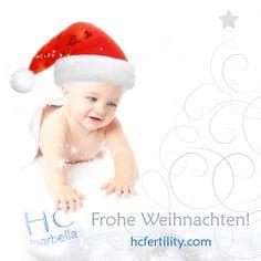 Frohe Weihnachten! HCFertility Marbella