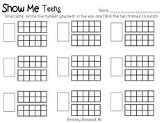 Teen Number Activities Kg/activity Sheet - Saferbrowser Yahoo Image Search Results