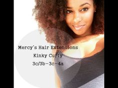 Mercy's Hair Extensions - Kinky Curly Review Looking for some kinky hair? I have a mix of 4A-AB hair and a little 3c in the middle. This hair really works for me. Haven't used heat in 2 months. (Going for 6 months)