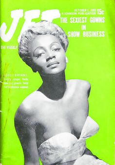 Joyce Bryant Wears Sexy Gowns For Show Busienss - Jet Magazine, October 1, 1953