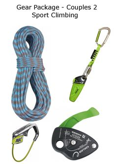 Gear Package - Couples 2 - Sport Climbing Sport Climbing, Gears, Packaging, Indoor, Personalized Items, Couples, Sports, Interior, Sport