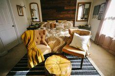 Rustic Master Bedroom -