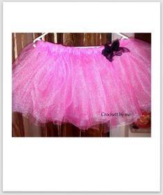 pink tutu Pink Tutu, Ballet Skirt, Joy, Crochet, Skirts, Fashion, Moda, Tutu, Skirt