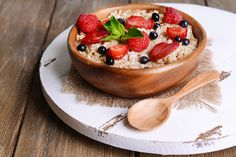 The Fruity One: Berry Healthy Maple Porridge