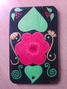 Cutting board_flowers