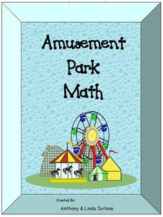 AMUSEMENT PARK MATHEMATICSThis file contains twelve word problems based on Pre-Algebra. Students will put their knowledge of fractions, decimals, percents, bar and circle graph, circumference, Pythagorean theorem, perimeter, area, volume, and surface area.