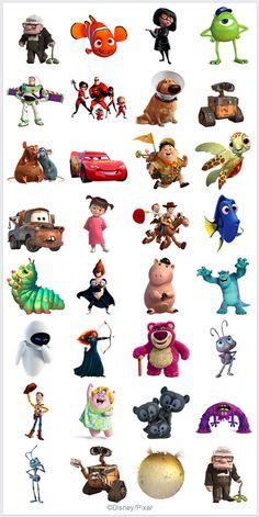 The Pixar Pack  #ThePixaePack facebook sticker by Pixar Animation Studios #view #Medialogist