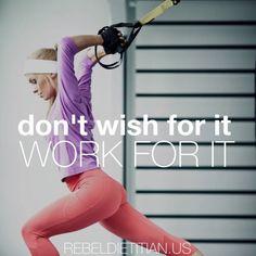 Train Mean | Fitness Inspiration | Rebel Dietitian, Dana McDonald, RD