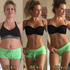 """18.9k Likes, 177 Comments - Female Fitness Transformations (@transformfitspo) on Instagram: """"Double Tap if You Are Impressed! @kristinasaniel: """"First picture: No sport, a sedentary life,…"""""""