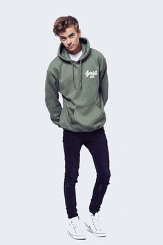 "Zoe and joe recently came up with their own merchandise and here is a picture of joe modelling a ""sugg life"" hoodie."
