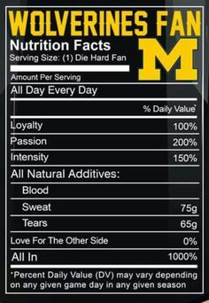 Get that Shit Right! Michigan Go Blue, Michigan Wolverines Football, Raiders Fans, University Of Michigan, Good Ol, College Football, Just Go, Raider Nation, Tailgating