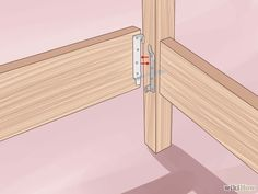 Build a Wooden Bed Frame tutorial...easy to dismantle.