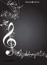 Resultado de imagem para molduras preto e branco música