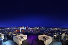 Ghost Bar, Las Vegas - because I'm a sucker for rooftop bars