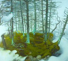 Inka Essenhigh, Fog, Moss, Lichen2008