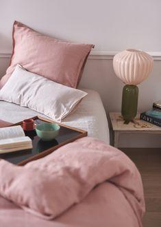 Taylor Sterling - (via Sézane lifestyle - Frenchy Fancy) Dream Bedroom, Home Bedroom, Bedroom Decor, Bedrooms, Bedroom Colors, Interior Decorating, Interior Design, Affordable Home Decor, Modern Colors