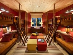bunk beds taken up to a new level...