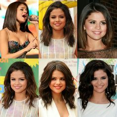 Short-medium selena gomez hairstyle inspiration