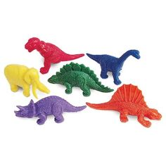 Learning Resources Mini-Dino Counters, Set of This big set of soft rubber dinosaurs introduces kids to early math concepts while encouraging imaginative play. Also great for party favors or classroom rewards. Dinosaur Facts, Dinosaur Toys, Real Dinosaur, Dinosaur Images, Dinosaur Birthday, 2nd Birthday, Birthday Ideas, Dino Eggs, Dinosaurs Preschool