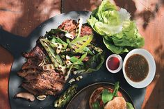 Find the recipe for Lamb Bulgogi with Asian Pear Dipping Sauce and other sesame recipes at Epicurious.com
