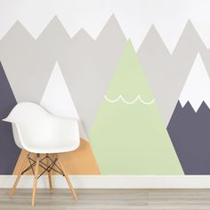 kids-orange-and-lime-mountains-nursery-square-wall-mural