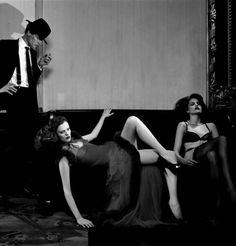Karen Elson & Missy Rayder for Vogue Italia, July 2004 Ph. by Steven Meisel