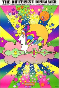 Different Drummer by Peter Max