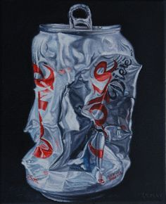 paintings of coke cans - Google Search