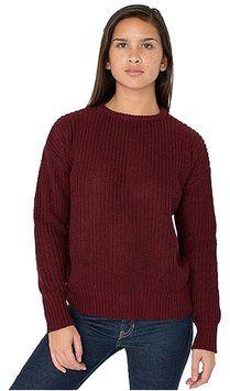 2b69d285255 American Apparel Fisherman s Burgundy Sweater. Tradesy