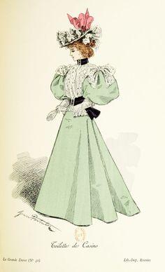 Fashion. 1895                                                                                                                                                                                 Plus