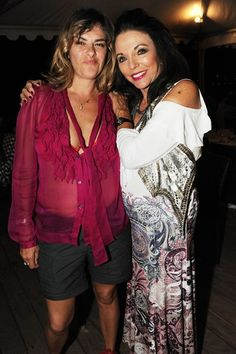 Tracey Emin's 50th birthday party