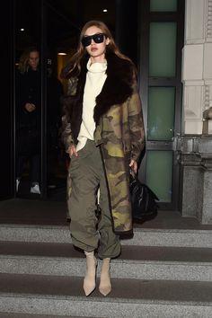 Gigi Hadid street style 2017, Джиджи Хадид уличный стиль 2017