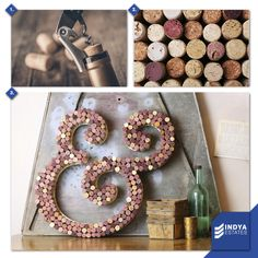 In a world full of expensive things, how about this #DIY.  Also, if you know any better ways to use these wine bottle corks share with us.  #IndyaEstates #RealEstates #Bangalore