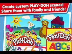 PLAY DOH Create ABCs Hasbro Games ANDROİD iOS Learn your ABCs