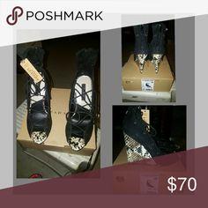 Selling this Zara Authentic Leather Wedges on Poshmark! My username is: ladymod. #shopmycloset #poshmark #fashion #shopping #style #forsale #Zara #Shoes