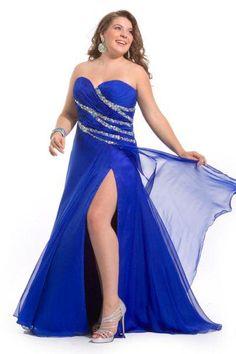 5f327e6e8b3 Fotos de vestidos de fiesta de noche para gorditas - Paperblog. Bridesmaid  Dresses Plus SizeProm ...