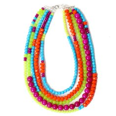 Gypsy Soule Rainbow Necklace $49.95. Something to think about